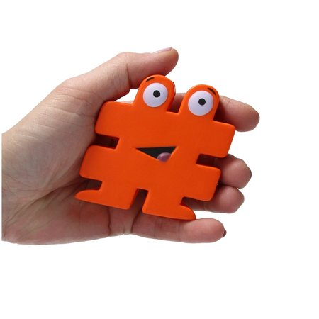 Banzaa Banzaa Stressbal Hashtag Medium Density 3 stuks # Oranje