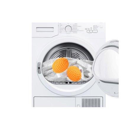 Banzaa Wasdroger Ballen Energie Geld en Tijdbesparend neutralengeur 2 Stuks – 8cm | Droger Geur Ballen | Wassen en Drogen van Kleding