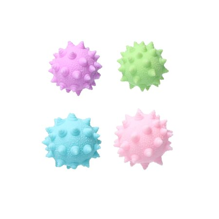 Banzaa Banzaa Stressbal Anti Virus Pastel Roze - Paars- Blauw- Groen 4 stuks