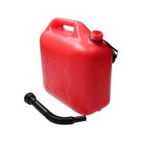 Jerrycan 10 Liter Rood Zware Kwaliteit 710 Gram UN Keurmerk