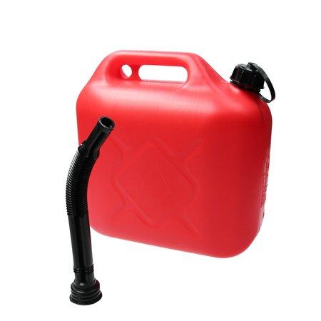 Kramp Kramp Jerrycan 10 Liter Rood Zware Kwaliteit 710 Gram UN Keurmerk