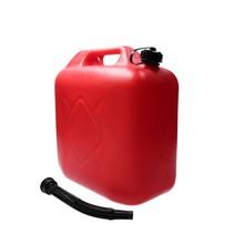 Jerrycan 20 Liter Rood Zware Kwaliteit 1015 Gram UN Keurmerk