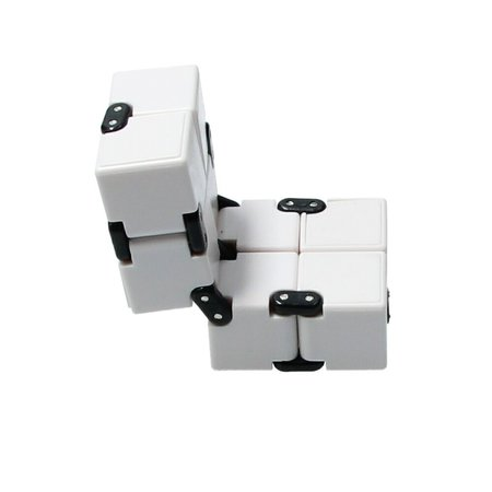 Banzaa Banzaa Infinite Magic Cube - Friemelkubus - Fidget Toys Wit