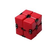 Infinite Magic Cube - Friemelkubus - Fidget Toys Rood