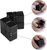 Banzaa Banzaa Infinite Magic Cube - Friemelkubus - Fidget Toys Blauw