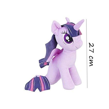 My Little Pony Paars My Little Pony zeepaardje knuffel Twilight Sparkle 27 cm