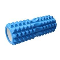 Foam Roller – Pilatesrol – Fascia – Yoga – Massage – Blauw