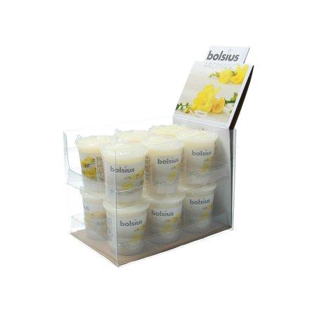 Bolsius Bolsius Geurkaars Freesia Mega pack blister 12 stuks