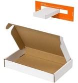 Post.nl 50stuks Brievenbusdoos A6 brievenbusdozen - 180x115x28 mm - verzenddoos met bovenklep