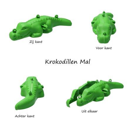 Banzaa Banzaa Moving Sand Speelzand Blauw 2.5 KG Modelleer Zand in Bak + Mal Krokodil