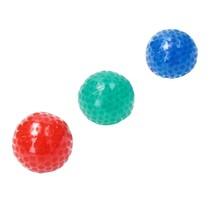 Sticky Balls 7cm ‒  Stressbal Orbeez 2-in-1 ‒ set van 3 Blauw, Rood , Groen