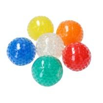 Anti stressbal Orbeez Mesh 7cm ‒ Mega super pack 6 stuks ‒ Multicolour