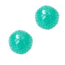 Anti stressbal Orbeez Mesh 7cm ‒ NEW Extra Dikke Ballon ‒ Set 2 Stuks Groen