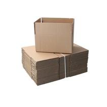 Verzenddozen ‒ 18,6x12,4x8,8cm ‒ FSC Gerecycled karton 25 dozen