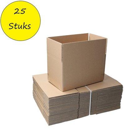 Banzaa Banzaa Verzenddozen ‒ 25x15x14cm ‒ FSC Gerecycled karton 25 dozen