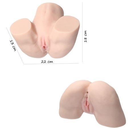 Paloqueth Paloqueth masturbator Extreme ‒ Sex Doll Zeer Realistische Sexpop Torso ‒ Kont 22cm