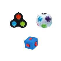 Fidget Toys Top 3 Pakket ‒ Rage 2021 ‒ Pop It, Cube, Puzzel