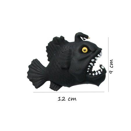Banzaa Banzaa Fidget Zeemonster ‒ Anti stress Knijp Speelgoed ‒ ZeeBlauw, Zwart
