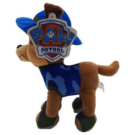 Paw Patrol PAW Patrol - Chase - Jungle Rescue - Pluche Knuffel - 28 cm