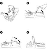 Gardigo 10 x Herbruikbare En Humane Muizenvallen Voor Binnen En Buiten - muizenval