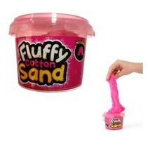 Fluffy cotton sand Roze