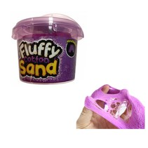 Fluffy cotton sand Paars
