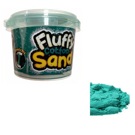 Jonotoys Fluffy cotton sand (Turquoise 8523)