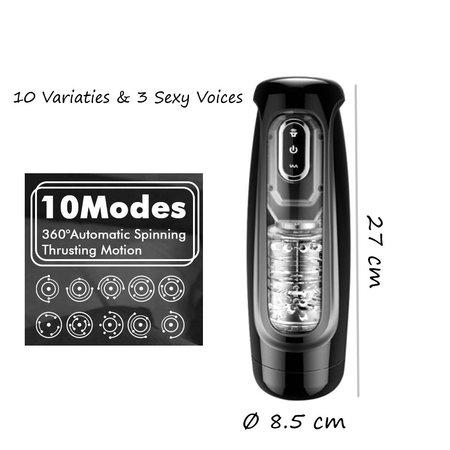 Yiwa Masturbator Stroking Pleasure ‒ Volautomatische Blowjob  ‒ 10 variaties & Sexy Voice