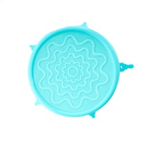 Siliconen Deksel Medium Bowl 14 cm Mint