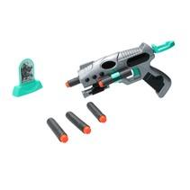 Space Weapon - Pistool met Target en 6 foam pijlen - geschikt voor NERF Pijltjes