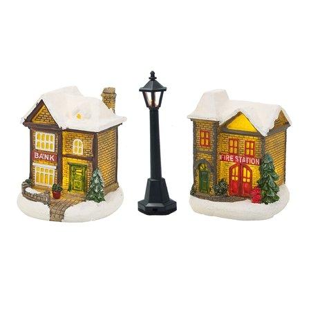 Banzaa Miniatuur lantaarns - Led verlichting - miniatuur bouw - 3 stuks