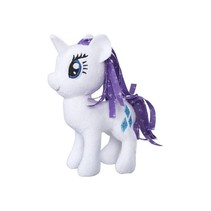 Knuffel My Little Pony Rarity 13 Cm Wit/paars