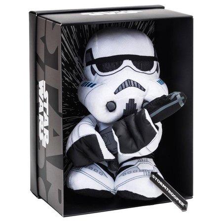 Star Wars Star Wars Black Line Pluche Stormtrooper 25 cm In Luxe display Box