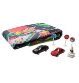 Xin Yu Toys Speed Weels Auto Speelmat Plus Autootjes & verkeersborden