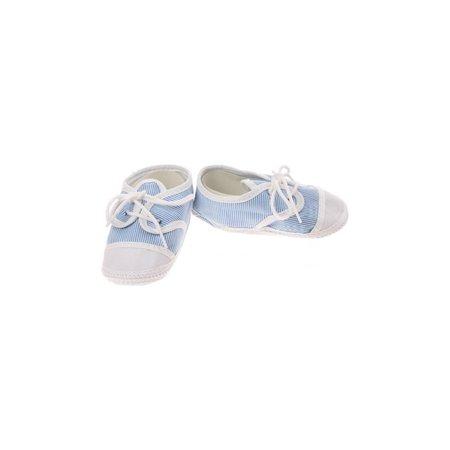 Junior joy Babyschoenen Newborn Junior Lichtblauw/wit Gestreept