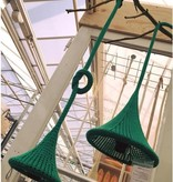 LemonWise Gebreide hanglamp - Grijs - Large - Ø 25 cm