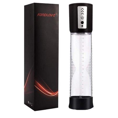Fondlove  Penispomp Automatische Penis Vergroter ‒ USB Oplaadbaar ‒ Extra Kunstvagina