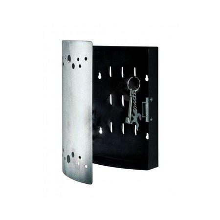 Haku Mobel  Sleutelkast RVS 16x24cm – Sleutelrekje – Magneetsluiting