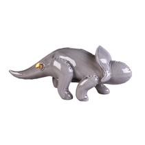 Spaarpot - dino Protoceratops - grijs