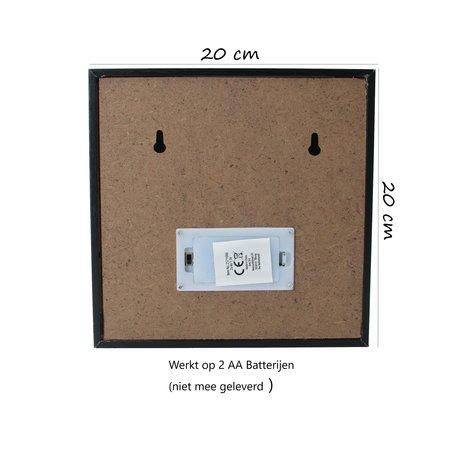 Banzaa Lichtbox met verschillende platen |Led| 3 verschillende platen| Houtenbox | Qoutes | Motiverend |Cadeau | Woonkamer & Slaapkamer|