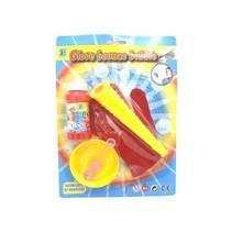 Bellenblaasset Met Handschoen Junior Rood/geel 5-delig