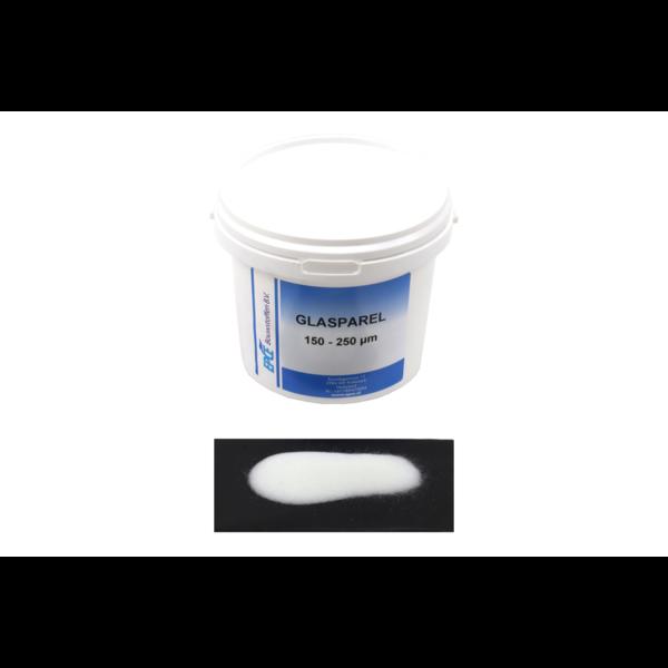 Glasparels AC, korrel 150-250 µm