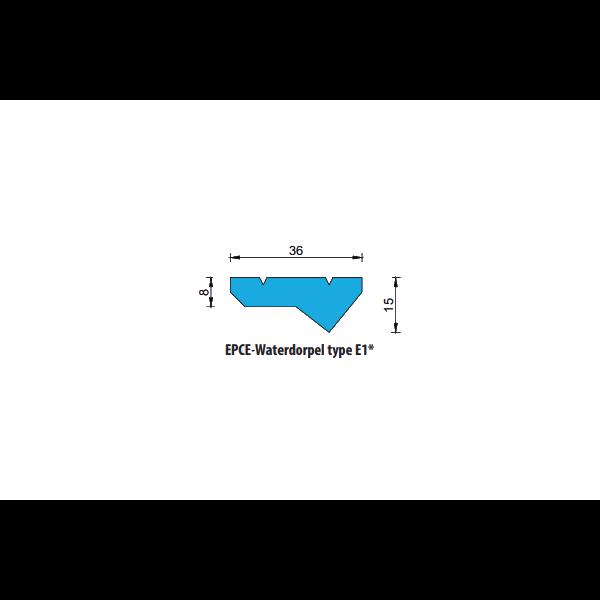 EPCE Waterdorpel E1, lengte 1 meter