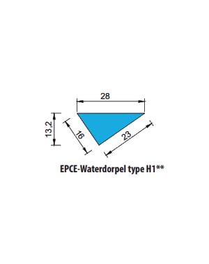 EPCE Waterdorpel H1, lengte 1 meter