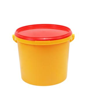 Emmer 5 liter geel