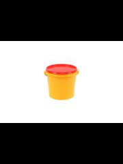 Emmer 2,5 liter geel