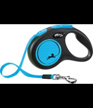 Flexi Flexi Rollijn New Neon Tape- Blauw