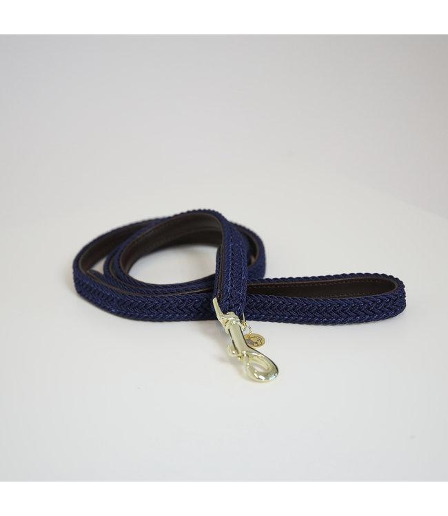 Kentucky Dogwear Leiband Gevlochten Nylon - Navy