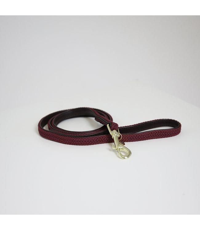 Kentucky Dogwear Leiband Gevlochten Nylon - Bordeaux