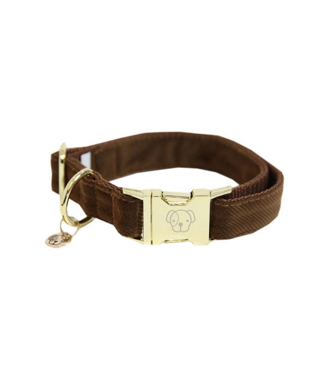 Kentucky Dogwear Halsband Corduroy - Bruin